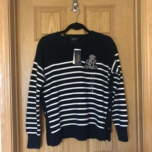 Polo by Ralph Lauren Nautical Sweater Size S NWT